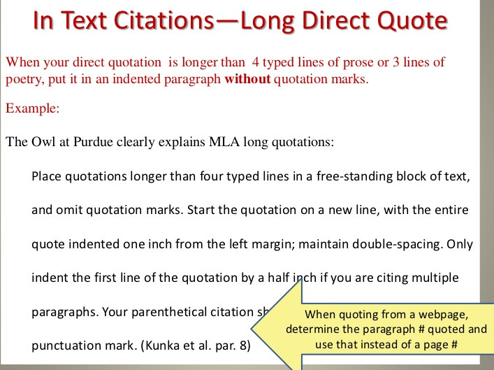 mla citation integrated direct quotation and Mla: quote & paraphrase writing quotation marks run-on sentences.