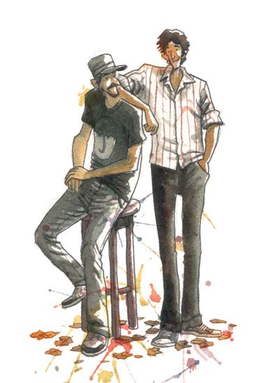 Fabio Moon and Gabriel Ba