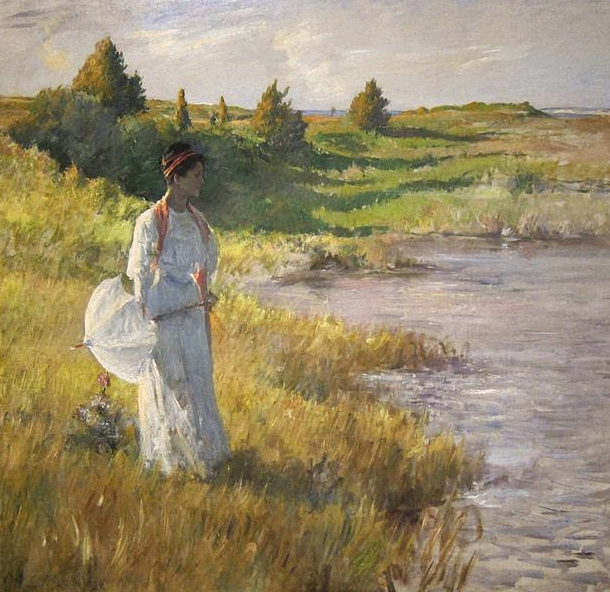 An Afternoon Stroll, 1895