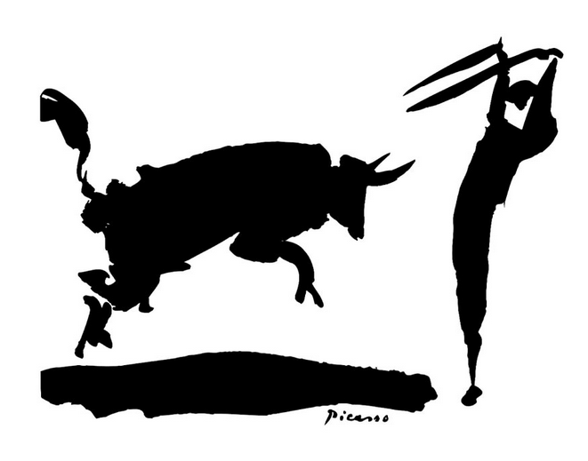 Bullfight iii, 1960 by Pablo Picasso .png