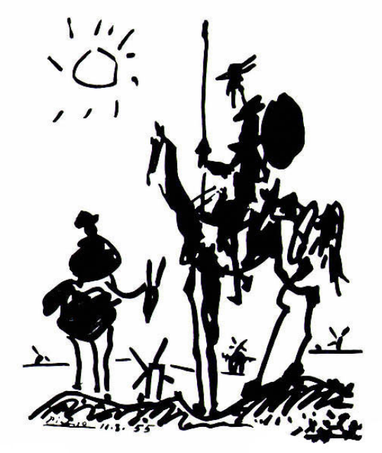 Don Quixote, 1955 by Pablo Picasso .png