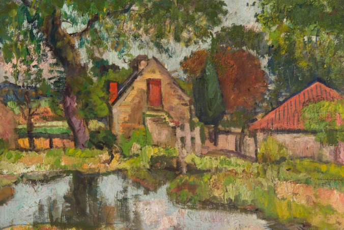 The Old Mill, George Hunter