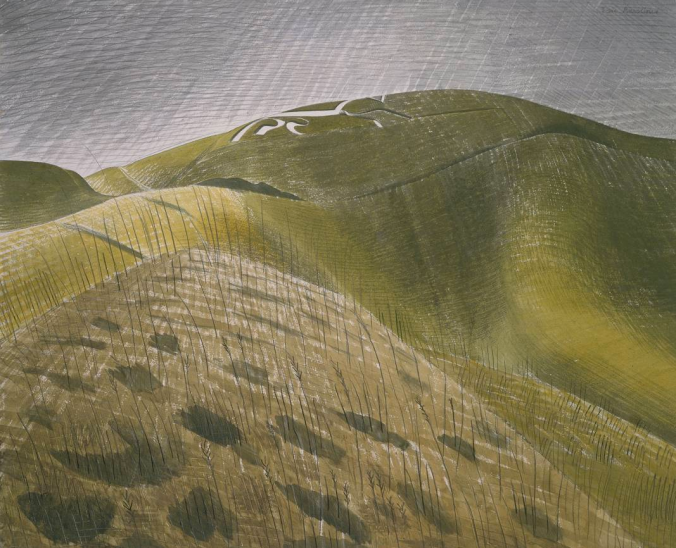The Vale of the White Horse by Eric Ravilious.png
