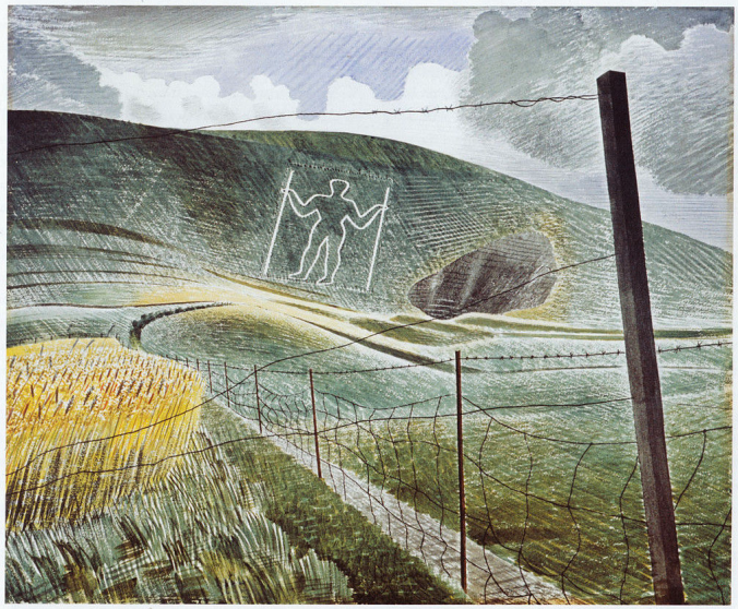 The Wilmington Giant by Eric Ravilious.png
