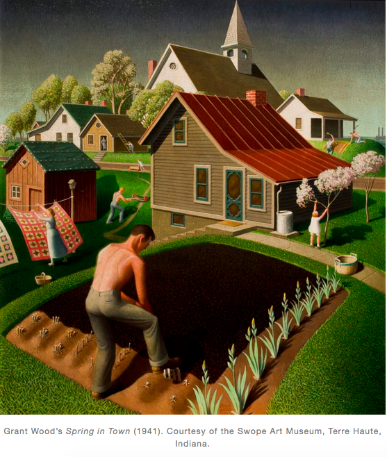 Spring in Town 1941 Grant Wood.png